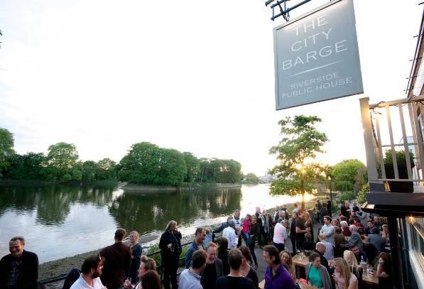 The City Barge Pub Garden